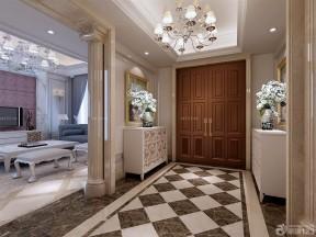 80平米房子裝修設計圖 歐式玄關鞋柜