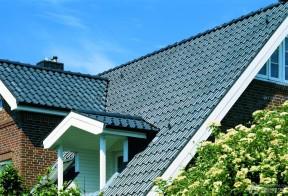 农村琉璃瓦房效果图 别墅屋顶设计图片
