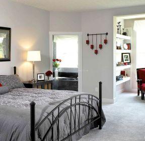 80平米房子鐵藝床的裝修設計圖-每日推薦