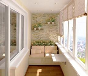 阳台装修效果图大全图片 壁纸背景墙