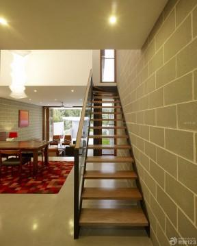 樓中樓樓梯扶手裝修設計圖 中式房屋裝修效果圖