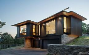 別墅圖片大全外景二層 木屋別墅建造