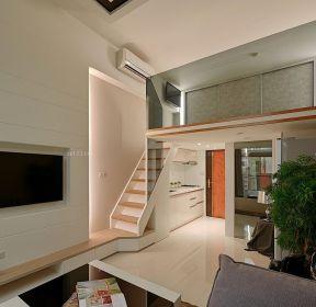 别墅空间楼中楼楼梯扶手装修设计图-每日推荐