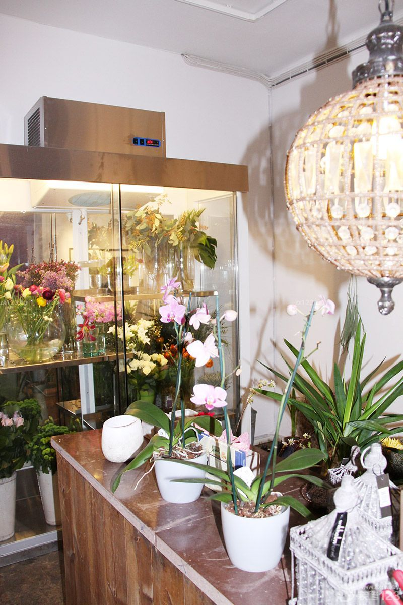 温馨20平米花店店面设计装修效果图