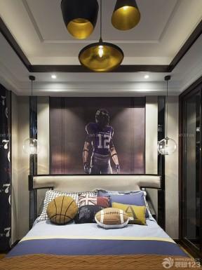 卧室灯 中式新古典装修