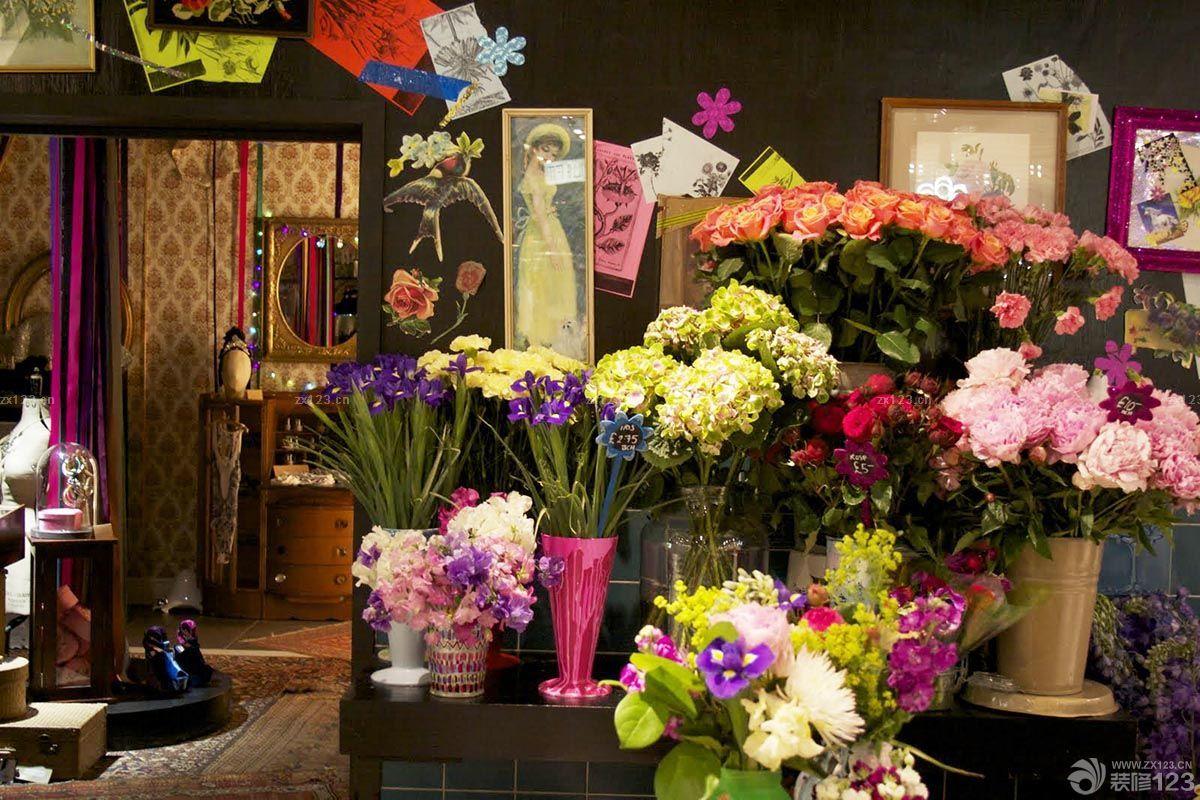 古典欧式风格鲜花店装修图片欣赏