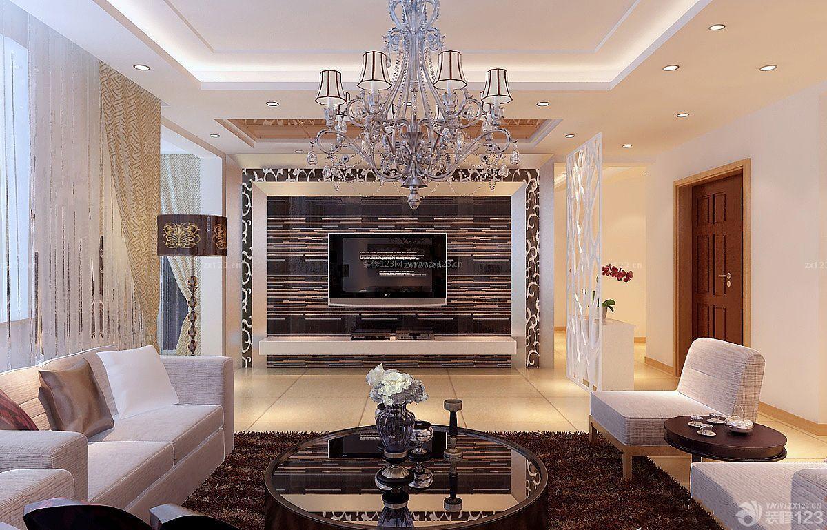 欧式简约风格室内客厅门洞装修效果图