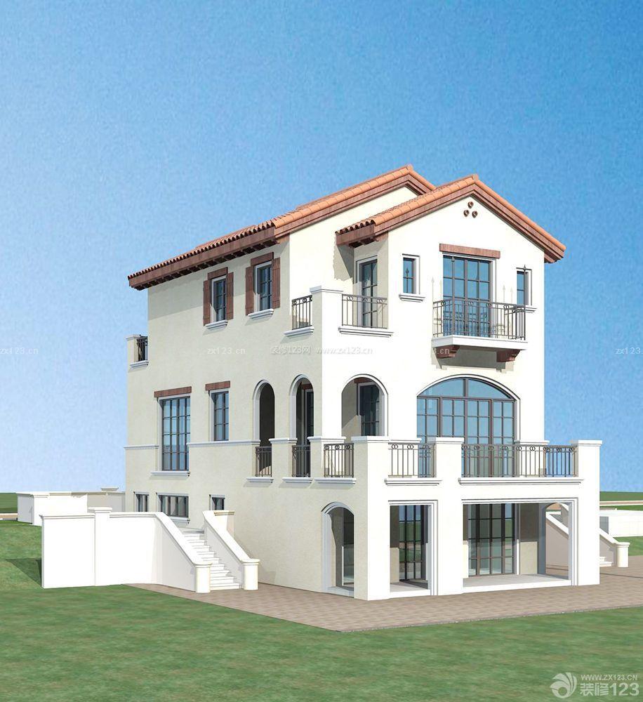 农村自建别墅围墙设计效果图