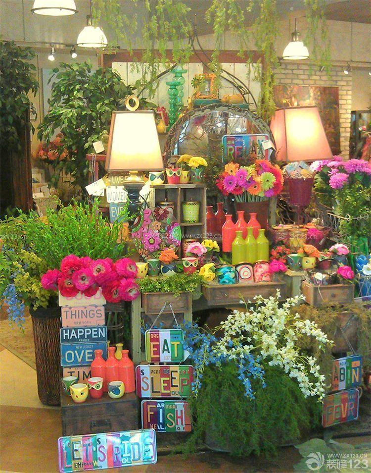 小型花店布置图片