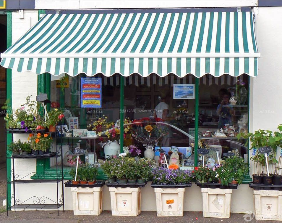 最新同城花店橱窗设计装修效果图片图片
