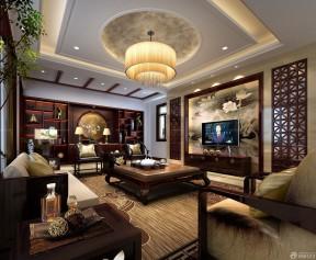 红酸枝古典装修 家庭室内装修设计