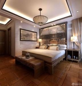 中式风格墙纸图片 压纹壁纸装修效果图片