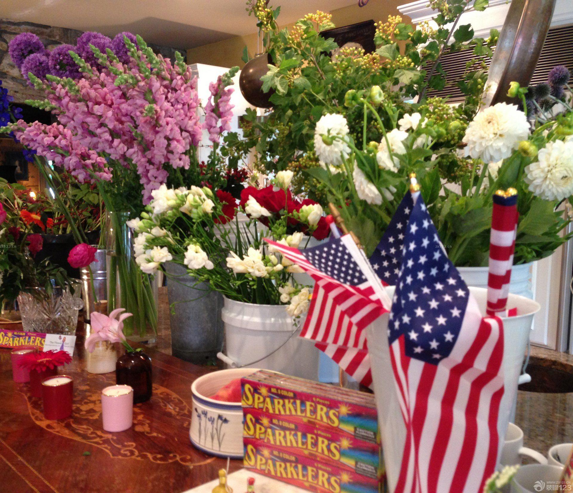 国外花店室内设计图片