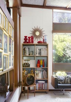 書柜設計 130平米簡單裝修設計圖