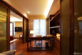 中式門裝飾圖示 書房裝修圖