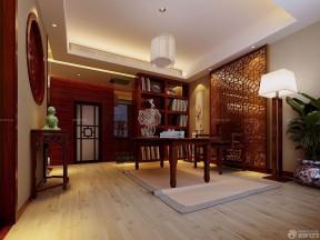 中式門裝飾圖示 家庭書房裝修