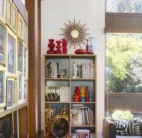 130平米簡單書柜裝修設計圖-每日推薦