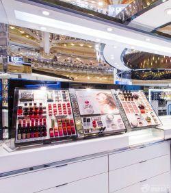 大型商场化妆品店铺装修设计效果图图片