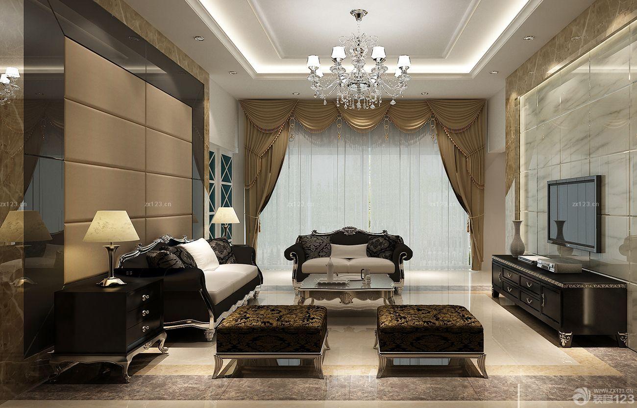 家庭别墅门槛石装修欧式风格效果图