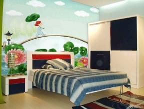 兒童房墻繪圖片 現代室內裝修