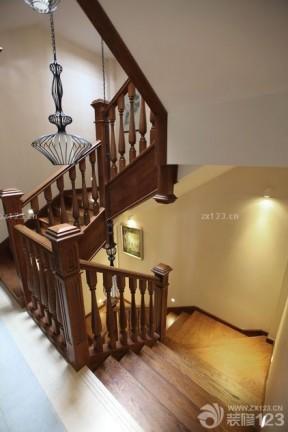 樓梯設計裝修效果圖片 中式效果圖