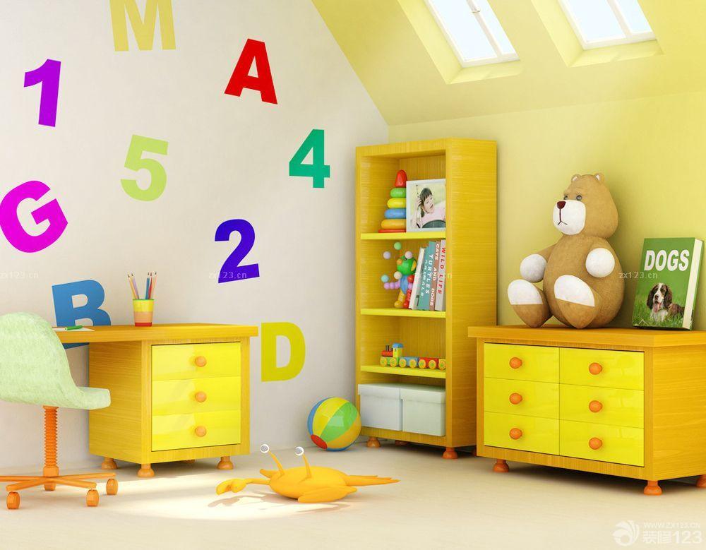 农村房子的家庭儿童房装修图