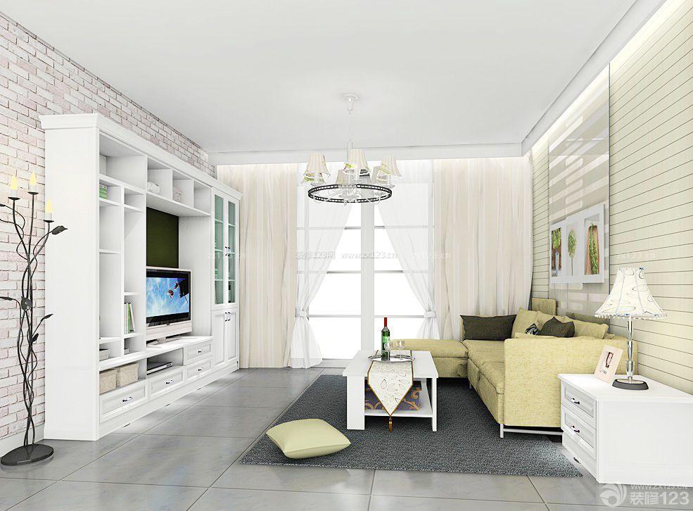 农村房子的小客厅装修效果图