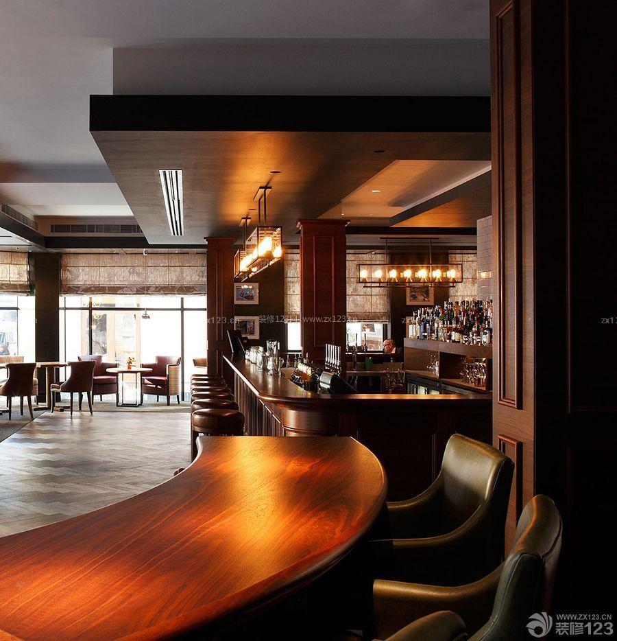 工装效果图 欧式 简约欧式风格酒吧吊顶装修效果图 提供者:   ←