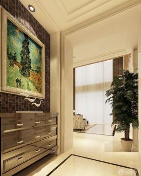 家庭装修入户鞋柜v风格现代风格法式别墅别墅钢结构图片