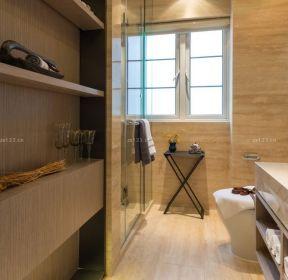 100平米三居室衛生間裝修效果圖-每日推薦