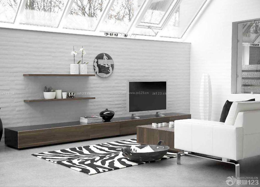 农村房屋设计客厅电视柜效果图片大全
