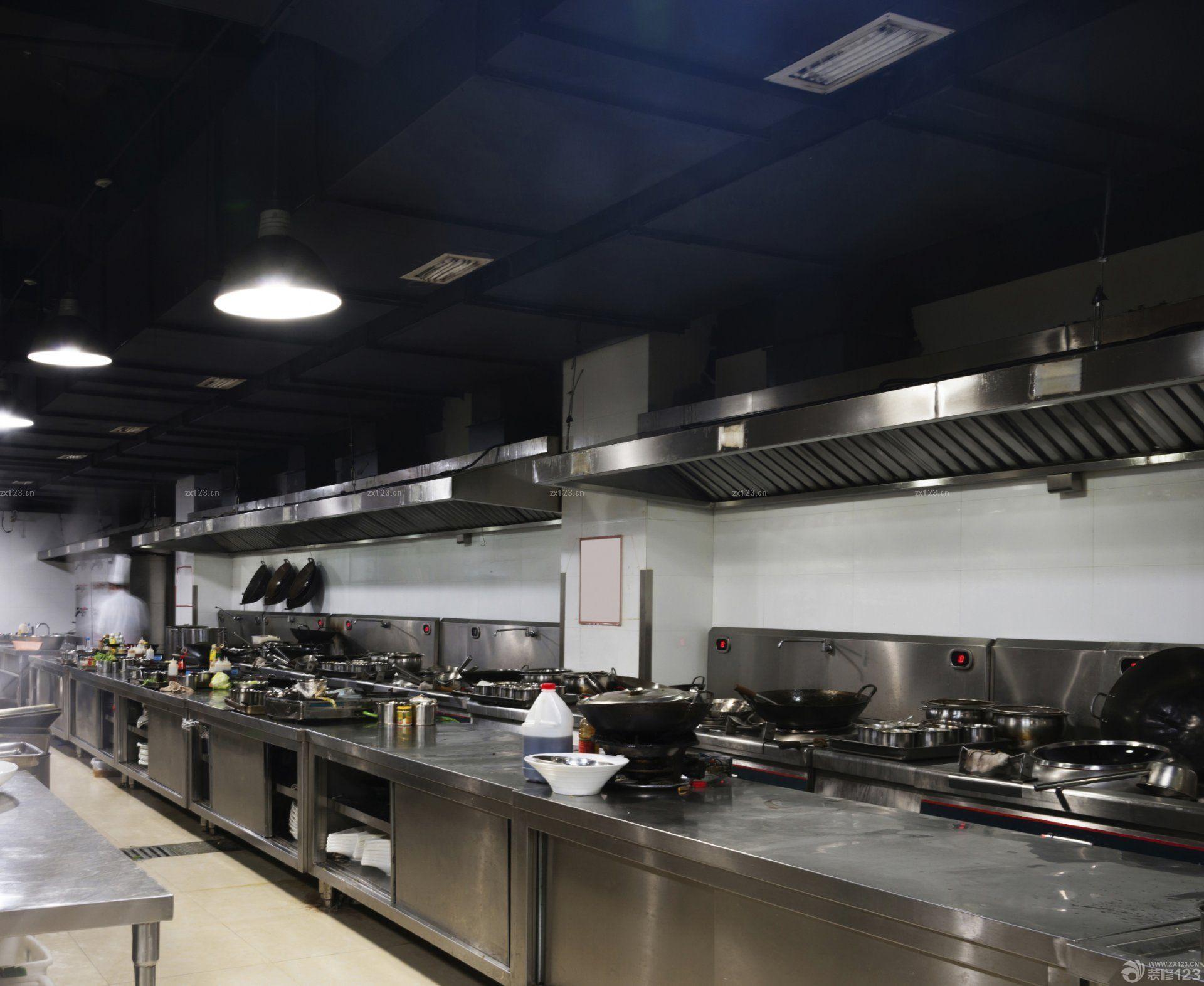 酒店厨房吊灯设计效果图