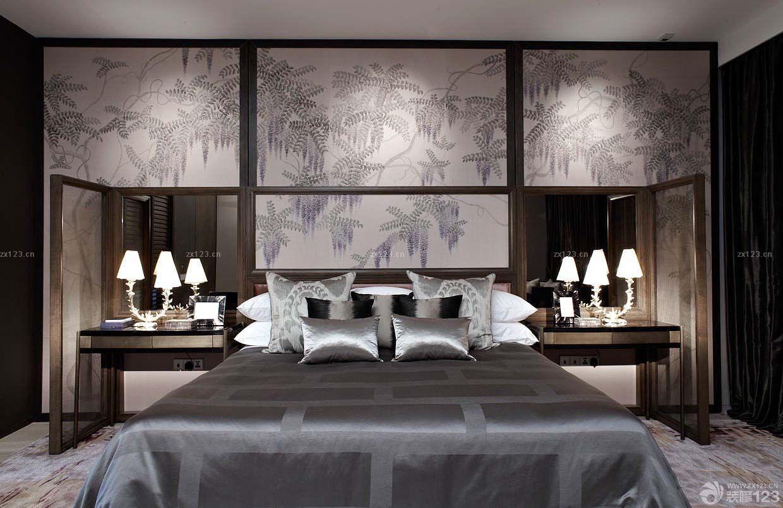 欧式家庭装修小卧室壁厨效果图