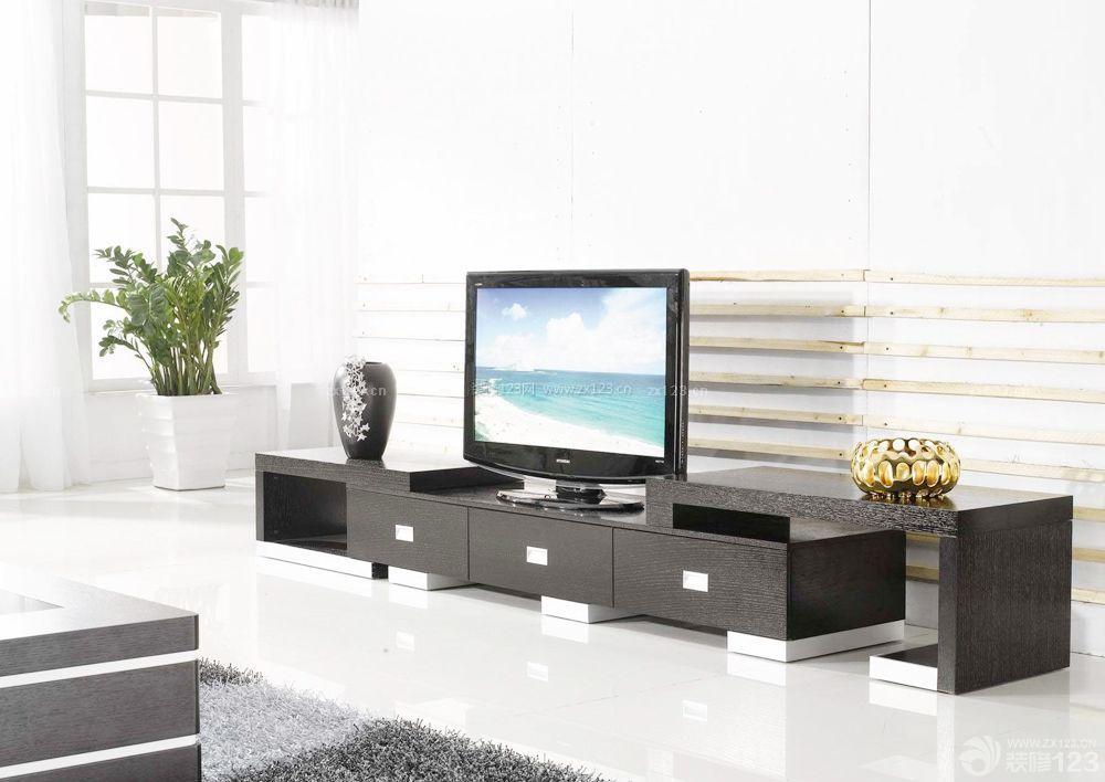 农村房屋设计客厅电视柜效果图片大全_装修123效果图