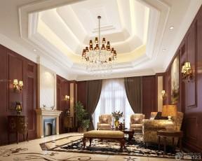 客廳房頂裝修效果圖 吊頂造型