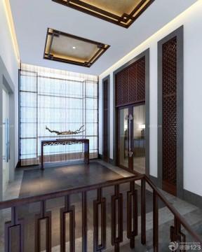 閣樓樓梯間設計 新中式別墅