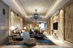 歐式古典風格 客廳吊頂裝潢