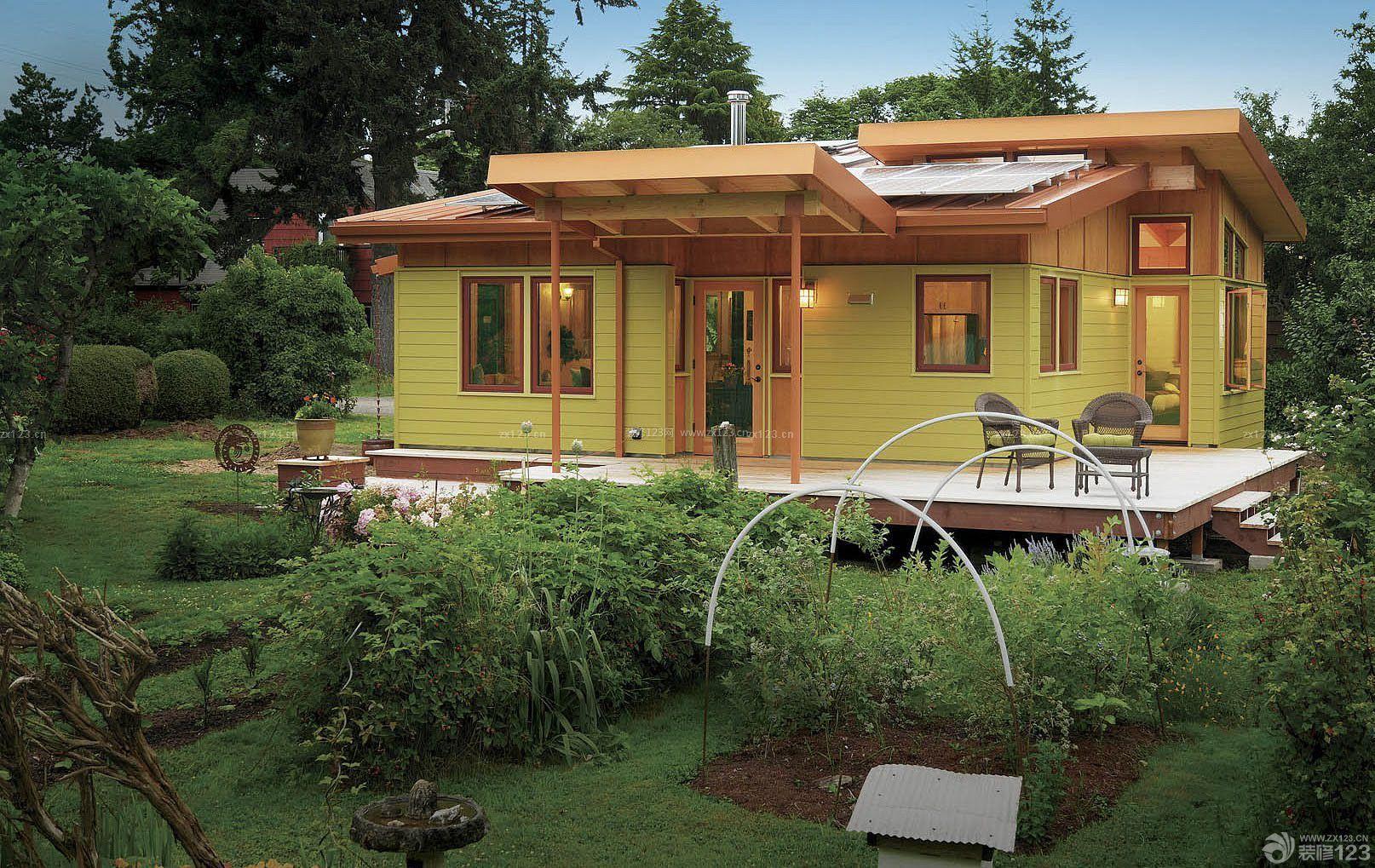 新古典美式装修风格房子外观设计图片