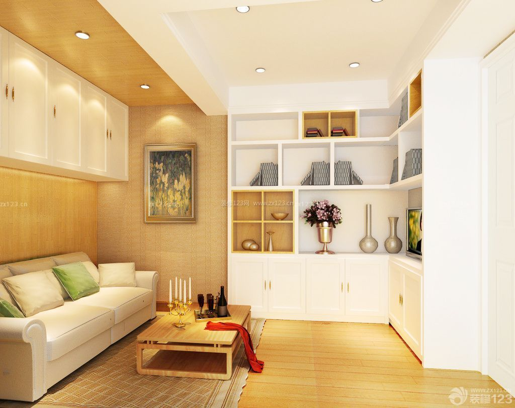 单身公寓户型装修设计图展示