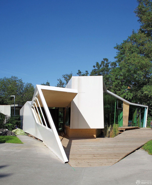 农村创意家居小别墅设计景观图