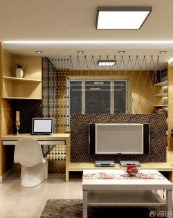 简约装修30平米单身公寓榻榻米效果图