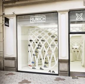 鞋店装修设计效果图 橱窗设计