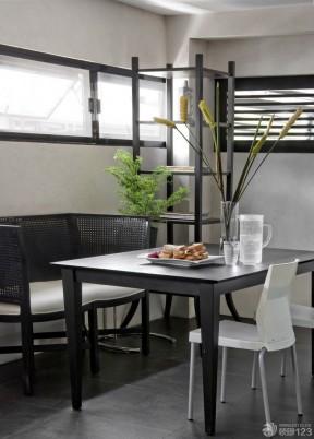 黑白室內裝潢 餐廳裝修設計
