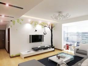 室內客廳設計效果圖 墻繪裝修效果圖片