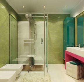 好看的房子卫生间瓷砖颜色装修效果图片-每日推荐
