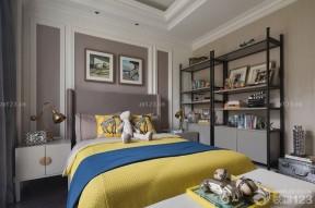 簡約臥室設計 臥室床頭背景墻