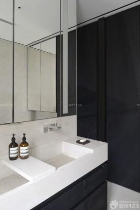 洗手間設計 黑白室內裝潢