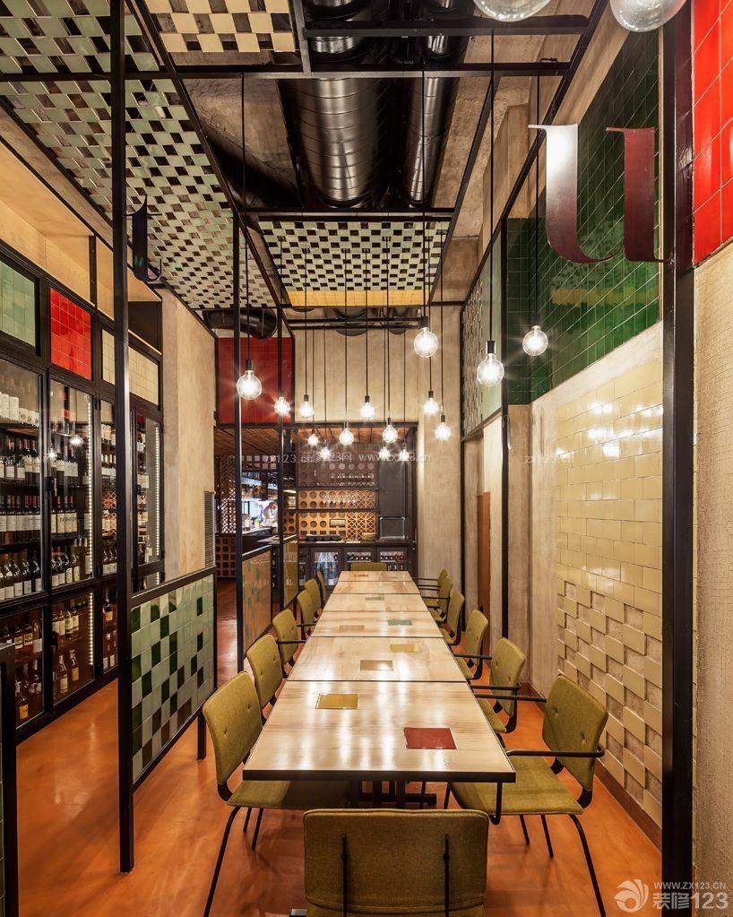 创意loft酒吧装修吊顶设计