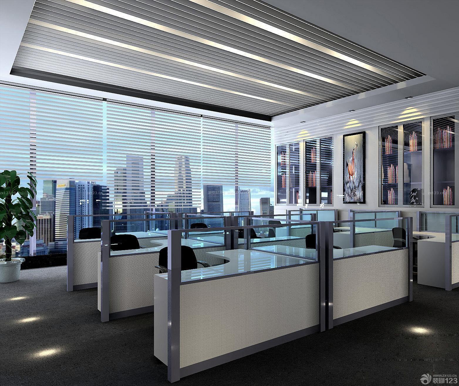 写字楼办公室窗户设计装修图片大全