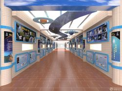 公司走廊瓷磚墻面裝修效果圖